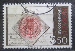 Poštovní známka Norsko 1994 Tromsø, 200. výroèí Mi# 1154