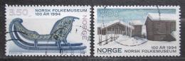 Poštovní známka Norsko 1994 Lidové muzeum Mi# 1161-62