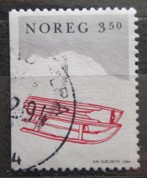 Poštovní známka Norsko 1994 Vánoce, sáòky Mi# 1170