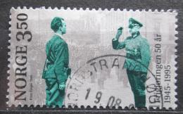 Poštovní známka Norsko 1995 Konec války, 50. výroèí Mi# 1178