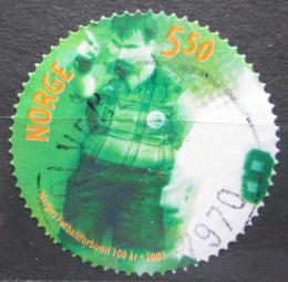 Poštovní známka Norsko 2002 Fotbalový svaz, 100. výroèí Mi# 1427