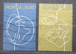 Poštovní známky Norsko 2004 Od èlovìka k èlovìku Mi# 1488-89