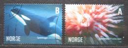 Poštovní známky Norsko 2005 Moøská fauna Mi# 1544-45