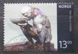 Poštovní známka Norsko 2010 Socha, Per Palle Storm Mi# 1706