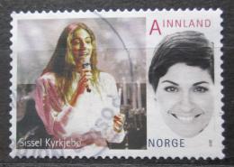 Poštovní známka Norsko 2011 Sissel Kyrkjebo, zpìvaèka Mi# 1764 Kat 2.50€