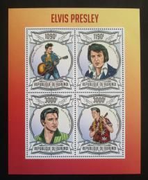 Poštovní známky Burundi 2013 Elvis Presley Mi# 3103-06 Kat 10€