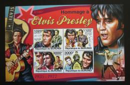 Poštovní známky Burundi 2011 Elvis Presley Mi# 2270-73 Kat 9.50€