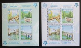 Poštovní známky Bosna a Hercegovina 2005 Evropa CEPT Mi# Block 13 A-B Kat 46€