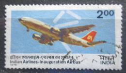Poštovní známka Indie 1976 Airbus A300B4 Mi# 701