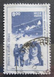 Poštovní známka Indie 1998 Indické pilotky Mi# 1650