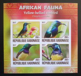 Poštovní známky Gabon 2017 Strdimil promìnlivý neperf. Mi# N/N