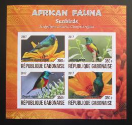 Poštovní známky Gabon 2017 Strdimil obojkový neperf. Mi# N/N