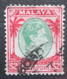 Poštovní známka Singapur 1948 Král Jiøí VI. Mi# 19 A Kat 8€