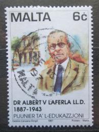 Poštovní známka Malta 1997 Albert Laferla Mi# 1020