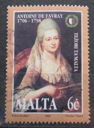 Poštovní známka Malta 1998 Umìní, Antoine De Favray Mi# 1033