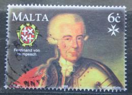 Poštovní známka Malta 1998 Ferdinand von Hempesch Mi# 1037