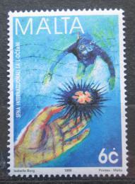 Poštovní známka Malta 1998 Mezinárodní rok oceánù Mi# 1044
