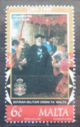 Poštovní známka Malta 1999 Umìní, Maltézský øád Mi# 1060