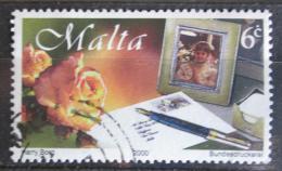 Poštovní známka Malta 2000 Myslím na Tebe Mi# 1115
