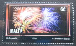 Poštovní známka Malta 2000 Ohòostroj Mi# 1134