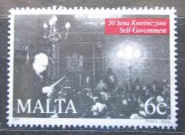 Poštovní známka Malta 1997 Guvernér Francis Douglas Mi# 1029