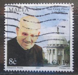 Poštovní známka Malta 2007 Páter George Preca Mi# 1516
