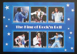 Poštovní známky Eritrea 2017 Elvis Presley neperf. Mi# N/N