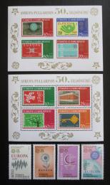 Poštovní známky Turecko 2005 Evropa CEPT Mi# 3487-90, Block 58-59 Kat 29€