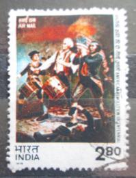 Poštovní známka Indie 1976 Americká revoluce, 200. výroèí Mi# 678