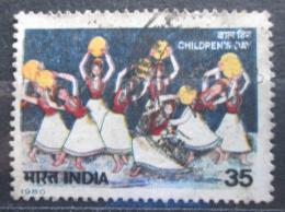 Poštovní známka Indie 1980 Tancující dìti Mi# 846