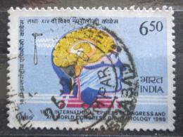 Poštovní známka Indie 1989 Kongres léèby epilepsie Mi# 1237