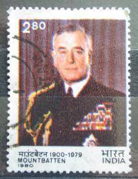 Poštovní známka Indie 1980 Admirál Louis Mountbatten Mi# 1838 Kat 3.50€