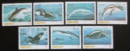 Poštovní známky Vietnam 1985 Moøští savci Mi# 1626-32