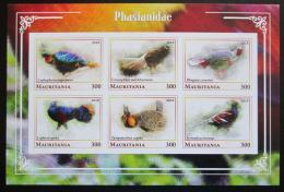 Poštovní známky Mauritánie 2018 Bažantovití neperf. Mi# N/N