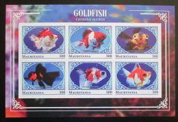 Poštovní známky Mauritánie 2018 Závojnatka èínská neperf. Mi# N/N