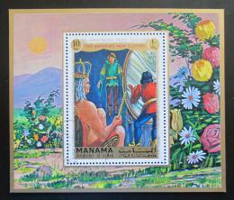 Poštovní známka Manáma 1971 Císaøovy nové šaty Mi# Block 173 A