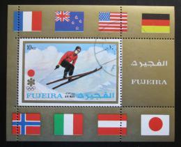 Poštovní známka Fudžajra 1972 ZOH Sapporo Mi# Block 87 A