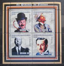Poštovní známky Mosambik 2002 Slavní herci Mi# 2520-23 Kat 12€