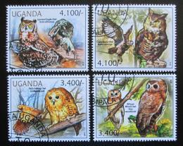 Poštovní známky Uganda 2012 Sovy Mi# 2795-98 Kat 13€