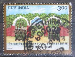 Poštovní známka Indie 1998 Vojenská pøehlídka Mi# 1657