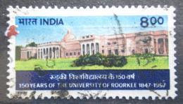 Poštovní známka Indie 1997 Technická univerzita Roorkee, 150. výroèí Mi# 1531