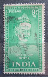 Poštovní známka Indie 1952 Kabir, básník Mi# 221