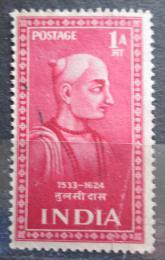 Poštovní známka Indie 1952 Tulsi Das Mi# 222
