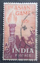 Poštovní známka Indie 1951 První asijské hry Mi# 219