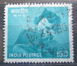 Poštovní známka Indie 1957 Den dìtí Mi# 277