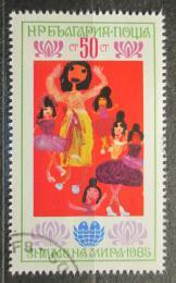 Poštovní známka Bulharsko 1985 Dìtská kresba Mi# 3356