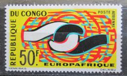 Poštovní známka Kongo 1965 EUROPAFRIQUE Mi# 63