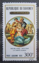 Poštovní známka Dahomey 1975 EUROPAFRIQUE, umìní Mi# 633 Kat 4.50€