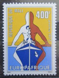Poštovní známka Mali 1977 EUROPAFRIQUE Mi# 600