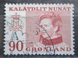 Poštovní známka Grónsko 1974 Královna Markéta II. Mi# 90